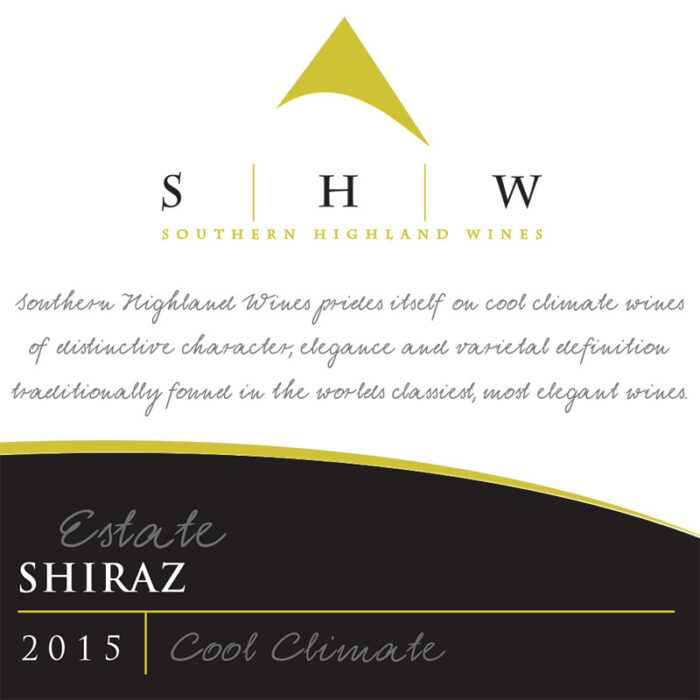 SHW Estate Shiraz, Southern Highlands Winery