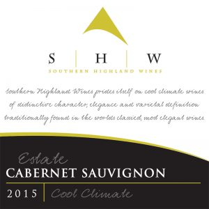 SHW Estate Cabernet Sauvignon, Southern Highlands Winery