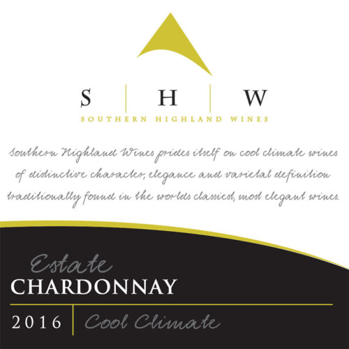 SHW Estate Chardonnay, Southern Highlands Winery