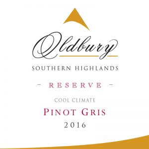 Oldbury Reserve Pinot Gris, Southern Highlands Winery