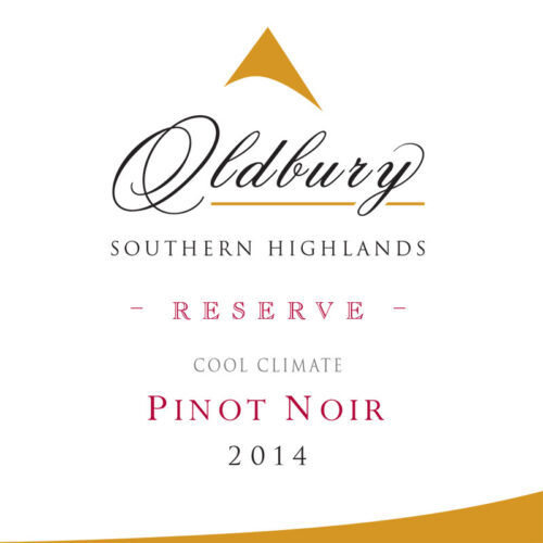 Oldbury Reserve Pinot Noir, Southern Highlands Winery