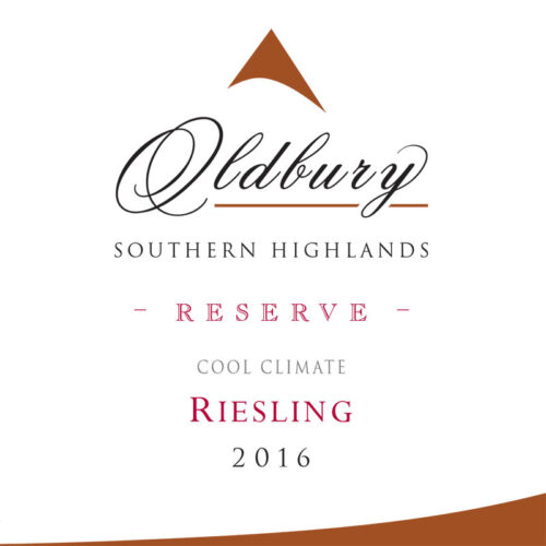 Oldbury Reserve Riesling, Southern Highlands Winery
